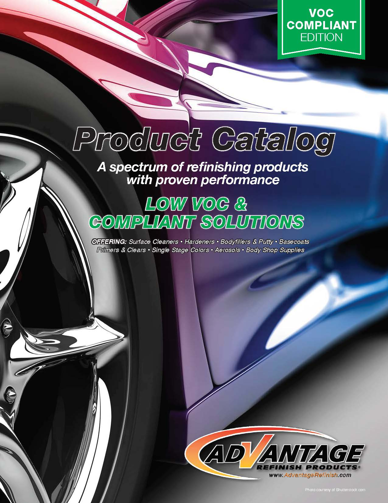 Advantage Low-VOC Product Catalog