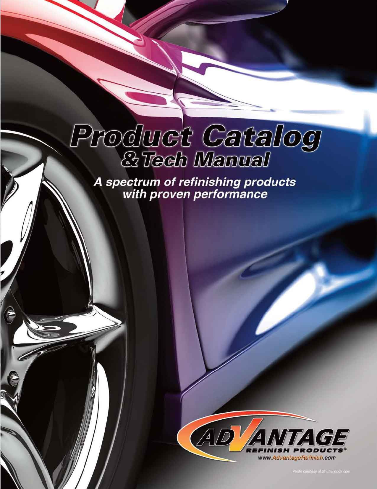 Advantage Product Catalog & Tech Manual